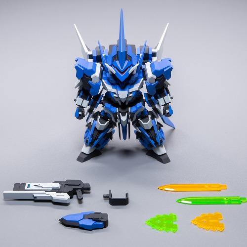 橘猫工业 SUPER ROBOT HEROES 闪创 拼装模型